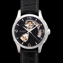 Hamilton Jazzmaster Open Heart Steel 40mm Black United States of America, California, San Mateo