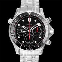 Omega Seamaster Diver 300 M Steel 44.5mm Black United States of America, California, San Mateo