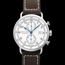 Hamilton Khaki Navy Pioneer new 2021 Automatic Watch with original box and original papers H77706553