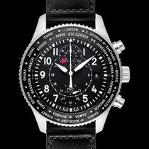 IWC Ceramic Automatic Black 44.00mm new Pilot Chronograph