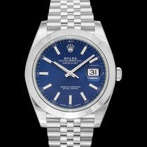 Rolex Datejust Steel 41mm Blue United States of America, California, San Mateo