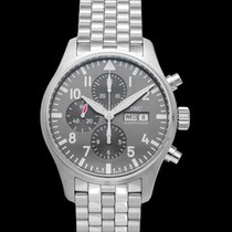 IWC Pilot Spitfire Chronograph Steel 43.00mm Grey United States of America, California, San Mateo