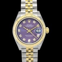 Rolex Lady-Datejust Steel 28mm Purple United States of America, California, San Mateo