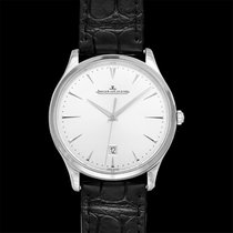 Jaeger-LeCoultre Master Ultra Thin Date Steel 40mm Red United States of America, California, San Mateo