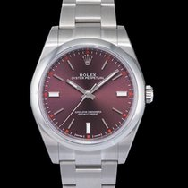 Rolex Oyster Perpetual 39 Steel 39mm Red United States of America, California, San Mateo