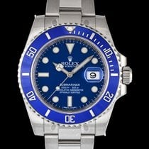Rolex Submariner Date White gold 40mm Blue United States of America, California, San Mateo