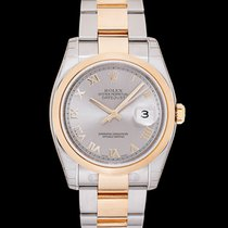 Rolex Datejust 116203 New Steel 36.00mm Automatic