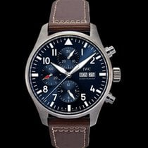 IWC Pilot Chronograph Steel 43mm Blue United States of America, California, San Mateo