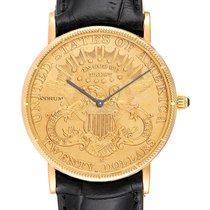 Corum Coin Watch Yellow gold 36mm United States of America, Georgia, Atlanta