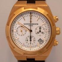 Vacheron Constantin Overseas Chronograph Rose gold Silver No numerals United States of America, Florida, Boca Raton