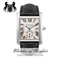 Cartier Tank MC Steel 34.3mm Silver