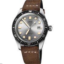 Oris Divers Sixty Five Acero 42mm Plata España