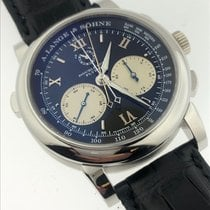 A. Lange & Söhne Double Split Platinum 43mm Black Roman numerals United States of America, California, Beverly Hills