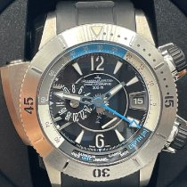 Jaeger-LeCoultre Master Compressor Diving Pro Geographic Titan 46mm Schwarz