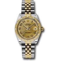 Rolex Lady-Datejust 31mm Champagne Arabes