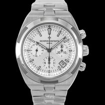 Vacheron Constantin Steel Automatic Silver 42.5mm new Overseas Chronograph