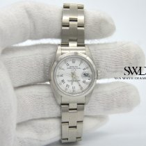 Rolex Oyster Perpetual Lady Date Steel 26mm White United States of America, New York, New York