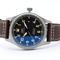 IWC Titanium Automatic Black Arabic numerals 40mm new Pilot Mark