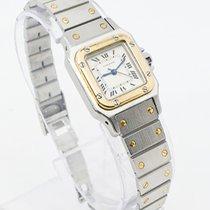 Cartier Santos (submodel) 1170902 Meget god Guld/Stål 24mm Automatisk