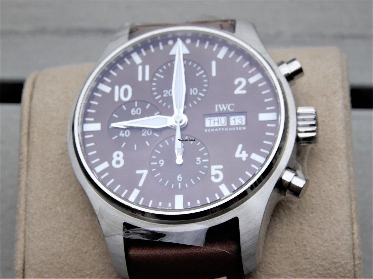IWC Pilot Chronograph IW377713 2021 novo