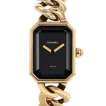 Chanel Or jaune Quartz Noir 29mm occasion Première