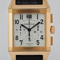Jaeger-LeCoultre Reverso Squadra Chronograph GMT Κόκκινο χρυσό
