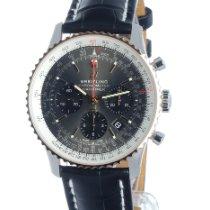 Breitling UB0121211F1P1 Goud/Staal 2021 Navitimer 1 B01 Chronograph 43 43mm nieuw