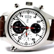 IWC Pilot Double Chronograph Acero 44mm Blanco Arábigos España, Madrid