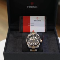 Tudor Black Bay S&G Gold/Steel 41mm Black