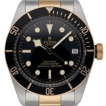 Tudor Black Bay S&G Gold/Stahl 41mm Schwarz
