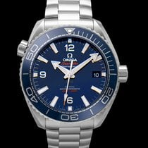 Omega Seamaster Planet Ocean Steel 43.5mm Blue United States of America, California, San Mateo