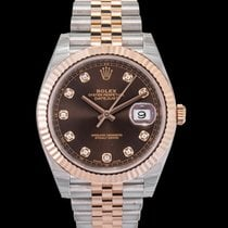Rolex Datejust II Rose gold 41mm Brown United States of America, California, San Mateo