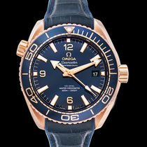 Omega Seamaster Planet Ocean Rose gold 43.5mm Blue United States of America, California, San Mateo