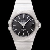 Omega Constellation Men Steel 38mm Grey United States of America, California, San Mateo