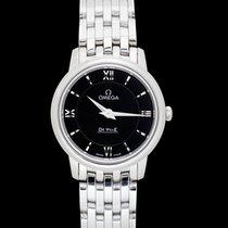 Omega De Ville Prestige new 2021 Quartz Watch with original box and original papers 424.10.27.60.01.001