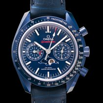 Omega Speedmaster Professional Moonwatch Moonphase 304.93.44.52.03.001 Новые Керамика 44.25mm Автоподзавод