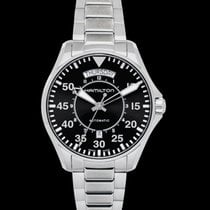 Hamilton Khaki Pilot Day Date Steel 42mm Black United States of America, California, San Mateo