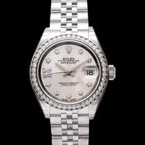 Rolex Lady-Datejust White gold 28mm Silver United States of America, California, San Mateo