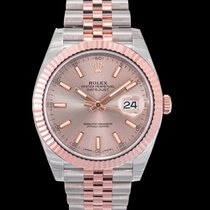 Rolex Rose gold Automatic Pink 41mm new Datejust II