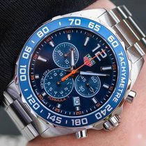 TAG Heuer Formula 1 Quartz Zeljezo 43mm Plav-modar Arapski brojevi