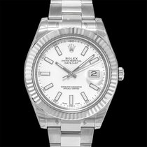 Rolex Steel Automatic White 41mm new Datejust II