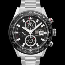 TAG Heuer Carrera Calibre HEUER 01 Steel 43mm Black United States of America, California, San Mateo