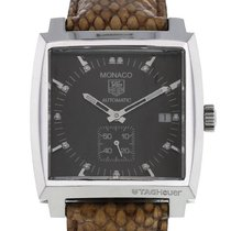 TAG Heuer pre-owned Automatic Black Sapphire crystal