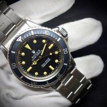 Rolex Submariner (No Date) Сталь 40mm Черный Без цифр