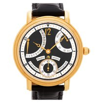 Maurice Lacroix Rose gold Manual winding Black Arabic numerals 44mm pre-owned Masterpiece