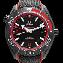 Omega Ceramic Automatic Black 45.5mm new Seamaster Planet Ocean