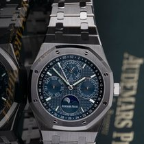Audemars Piguet Royal Oak Perpetual Calendar new Automatic Watch with original box and original papers 26574ST.OO.1220ST.02