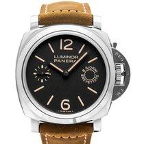 Panerai Luminor Marina 8 Days nieuw Handopwind Horloge met originele doos en originele papieren PAM00590