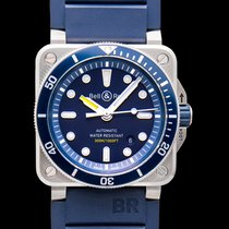 Bell & Ross BR 03-92 Steel Steel 42mm Blue United States of America, California, San Mateo