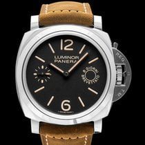 Panerai Luminor Marina 8 Days Stål 44mm Svart